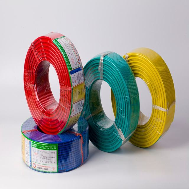 PVC Insulated Electrical Wire, Flexible Building Wire for Home and Office