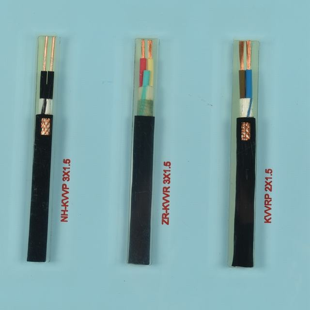 PVC Insulated Power Cable Copper Wire Flexible Flat Electric Cable
