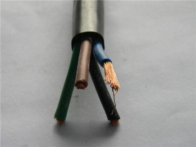 H07rn-F 4 Core Rubber Flexible Trailing Cable 1.5mm Rubber Cable
