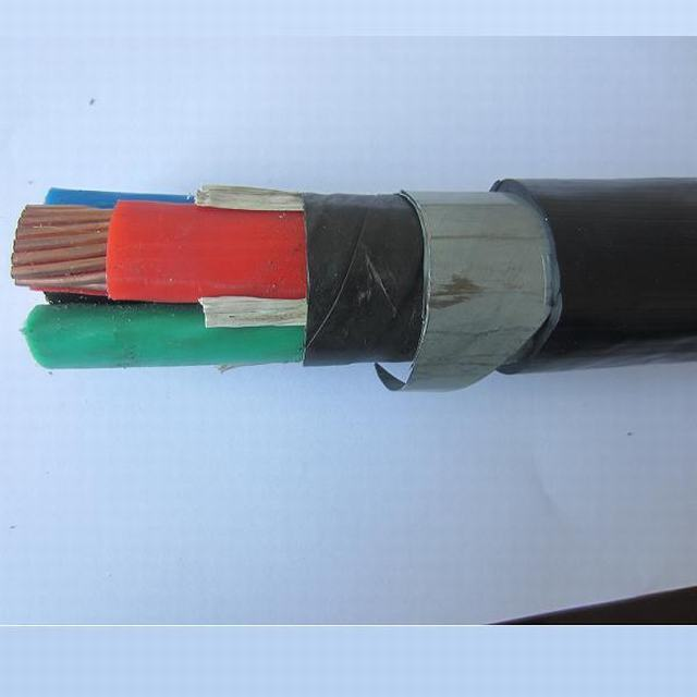 0.6/1 Kv 4X240 Cu XLPE PVC Double Steel Tape Armour Direct Burial Power Cable