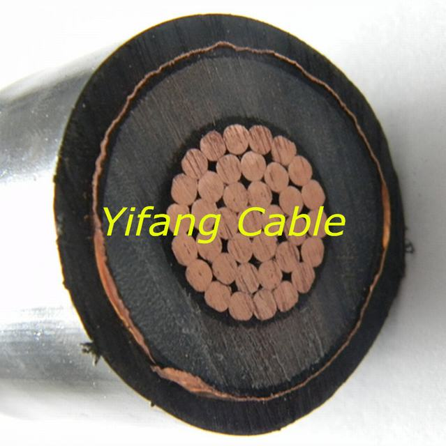 10kv Single Core Copper Conductor XLPE Insulation PVC Sheath Wire