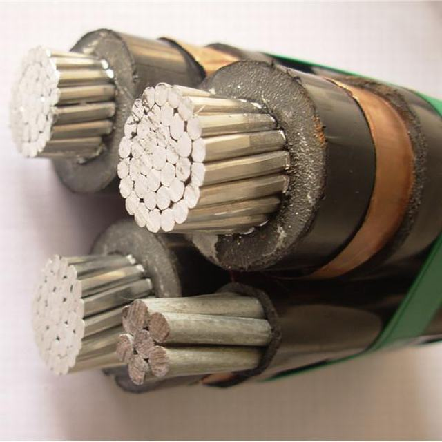 11kv 22kv 33kv Al XLPE Steel Wire Messenger Medium Voltage ABC Cable