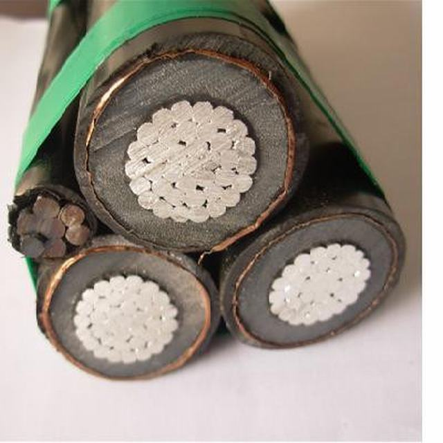 11kv XLPE Insulated Aluminum Power Cable According to NFC 33-226 Standard