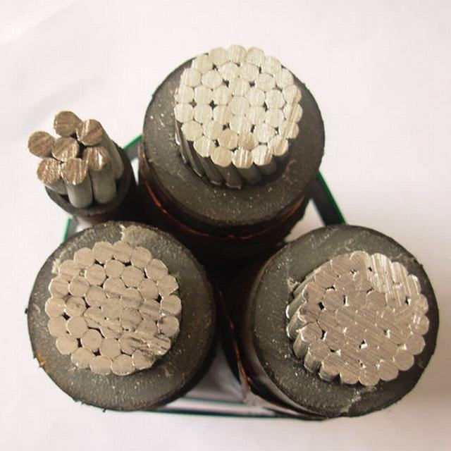 15 Kv Medium Voltage Aerial Bundled Cable 3*50+1*25 Sqmm Overhead Cable