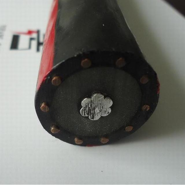 15kv Aluminum Concentric Netrual Cable with 100% / 133% XLPE Insulation Level