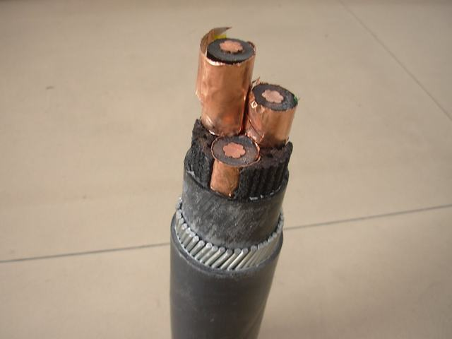 15kv Shielded Powercable for Use in Thetransmission Anddistribution of Electricenergy