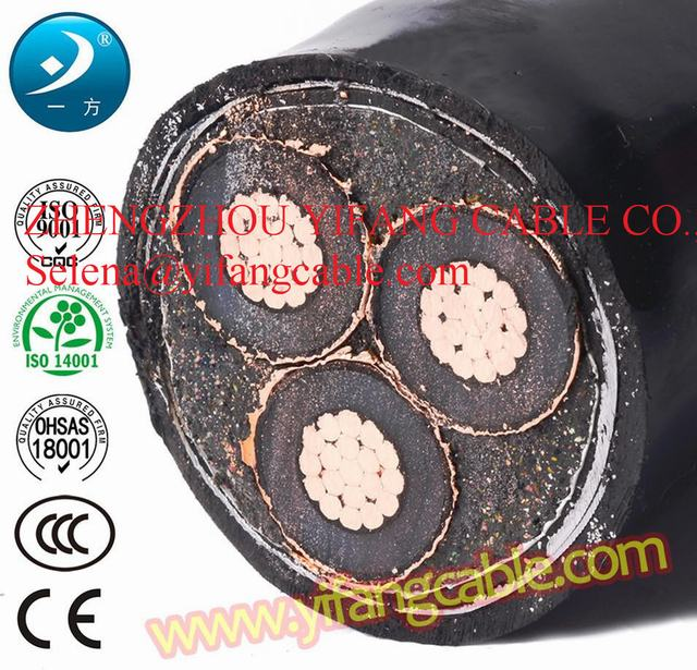 15kv Ug Power Cable 3core240mm2