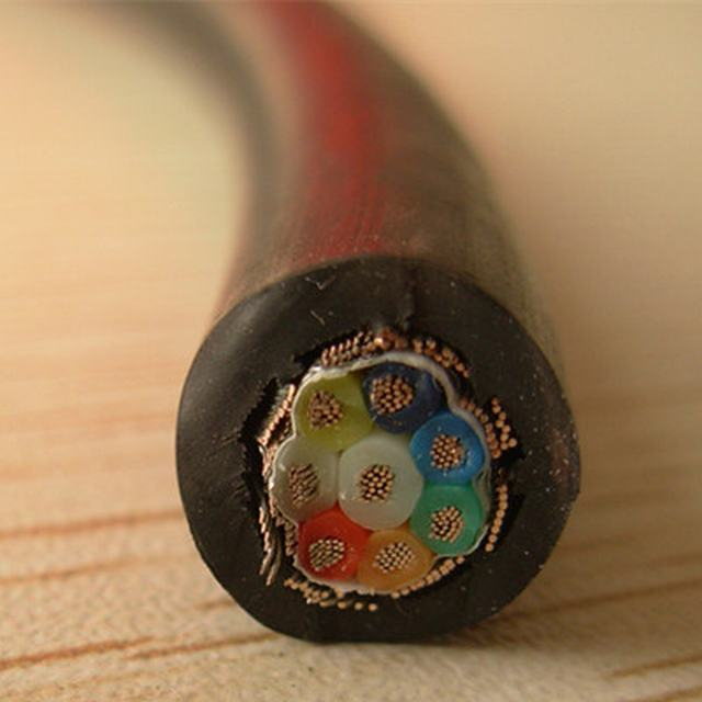 1kv Flexible Copper PVC Insulation Copper Wire Braiding Cable