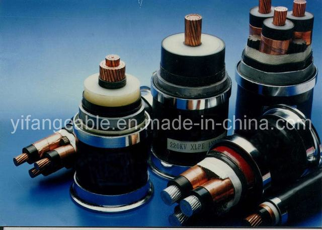 220KV XLPE Insulated Power Cable (YJV22)