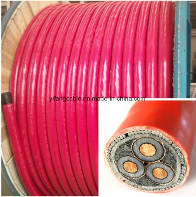 33 Kv High Voltage Power Cable 35 50 70 95 120 150 185 240mm2 Single Copper Core XLPE Underground Cable