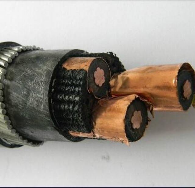 33kv XLPE Insulated 3 Core 150mm2 Power Cables