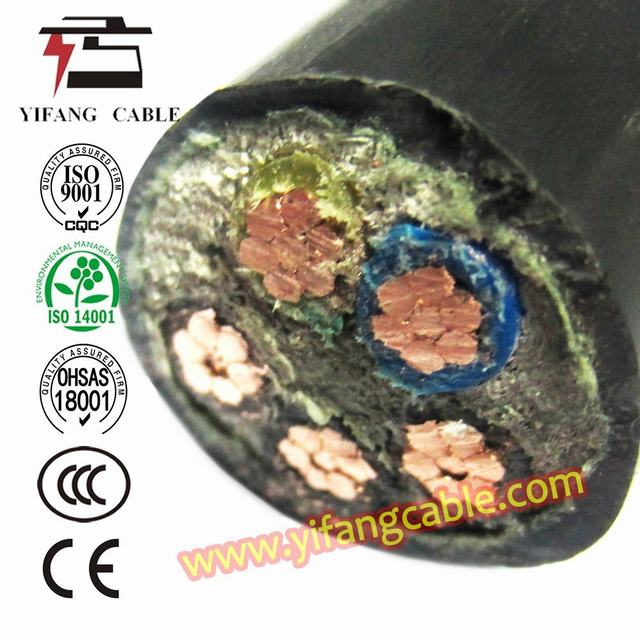 5 X 150mm2 XLPE Insulated Wire Power Cable 5 Core Cable