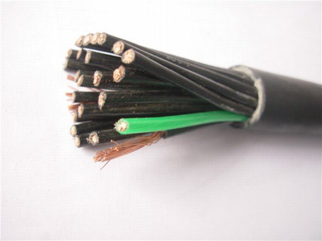 50/750V XLPE / PVC Insulation Shielded and Armoured Control Cable