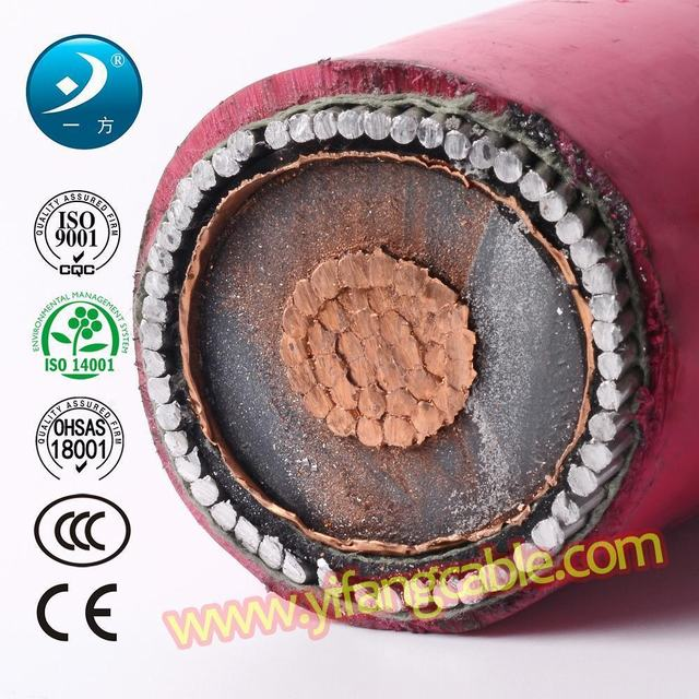 6/10 (11) Kv, Al XLPE Swa PVC 3X70mm2 Power Cable