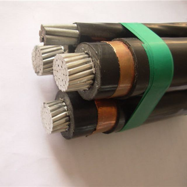 6.35/11kv Screened ABC Aerial Bundled Cables to AS/NZS 3599.1 (AL/XLPE /CWS/HDPE)