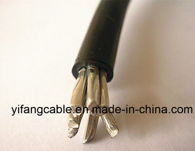 600V Single Core LDPE/HDPE/XLPE Insulated Covered Line Wire Cable
