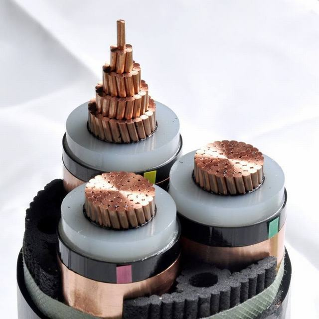 6kv 3X120mm2 XLPE Steel Armored Underground Cable