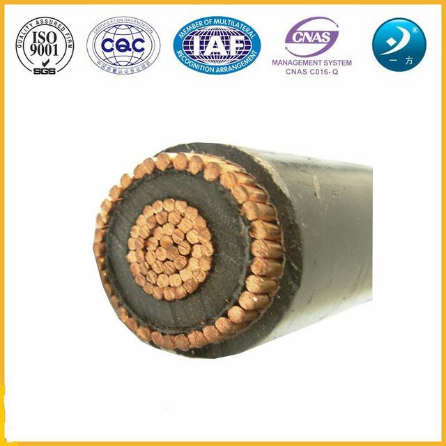 8.7/15kv Copper Conductor XLPE Insulated Copper Wire Screen Medium Voltage Cable