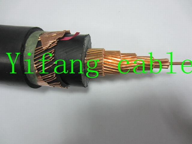 8.7/15kv Copper Conductor XLPE Insulation N2xsy Power Cable with Copper Wire & Copper Tape Screen