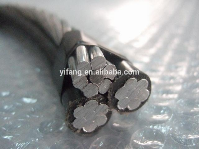 ABC Cable Triplex Cable Cockle 2*4/0AWG+1*4/0AWG Bare ACSR