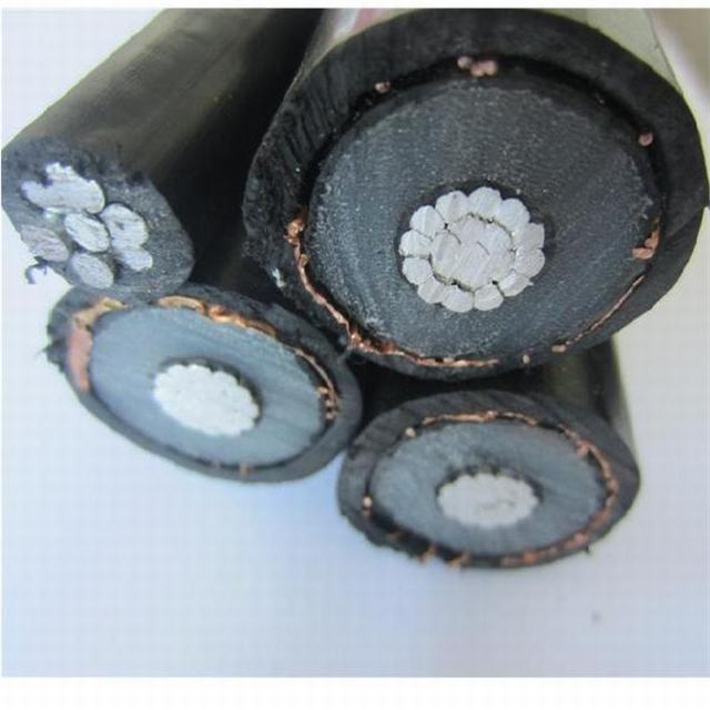 Al/XLPE/Cts/PVC Mv Overhead ABC Cable 185mm2