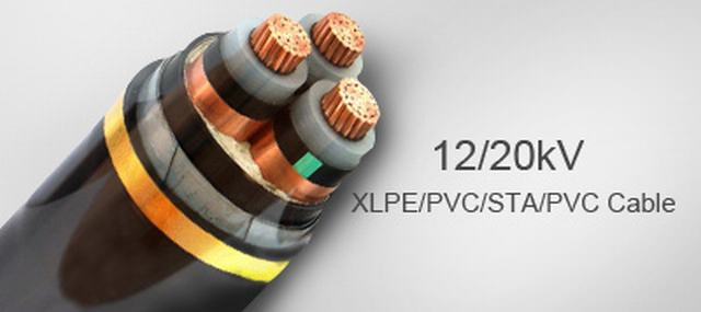 BS 6622 Single Core Unarmoured (Copper Wire Screen) 22kv XLPE Stranded Copper Cable