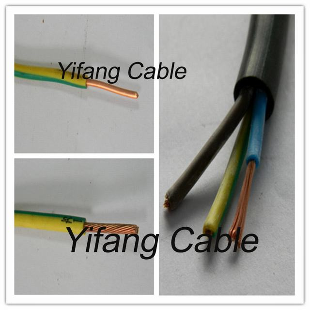 Copper Conductor PVC Electric Wire BV 16mm Earth Wire