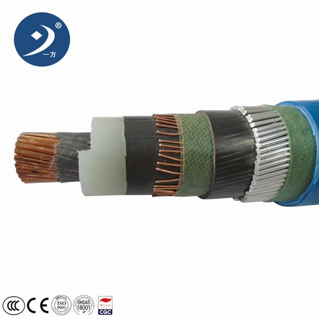 Cu/XLPE/Swa/PVC Outdoor Mv Power Cable for Netherlands Sale