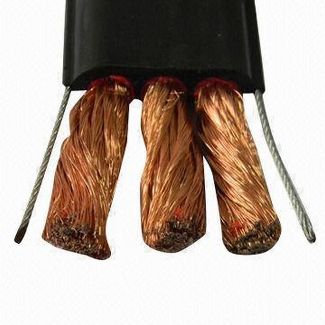 Flat Cable, Copper Conductor, PVC Insulated/Sheath
