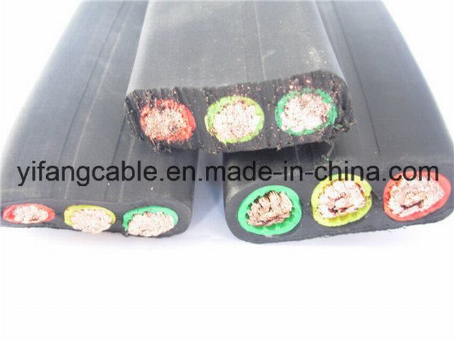 Flat Travel Cable for Elevator Use (Flat Travelling Cable TVVB)