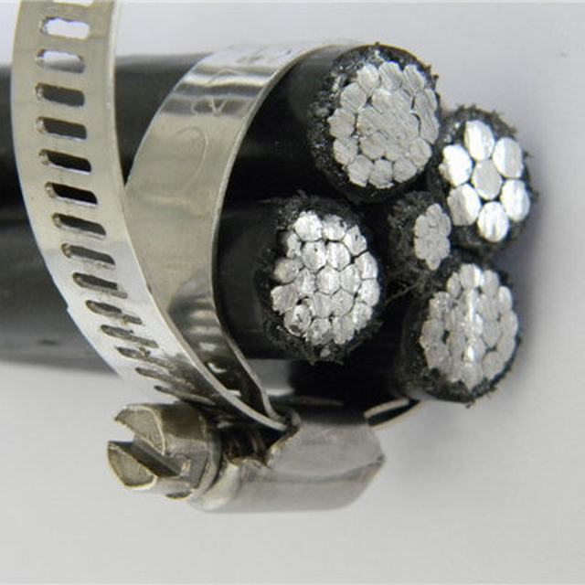 French Standard NFC 33-209 Africa ABC Cable 3X95+54.6mm2 Aluminum Conductor XLPE Insulation