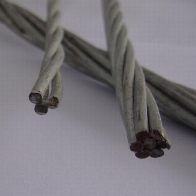 Galvanized Steel Wire Stay Wire Earth Wire