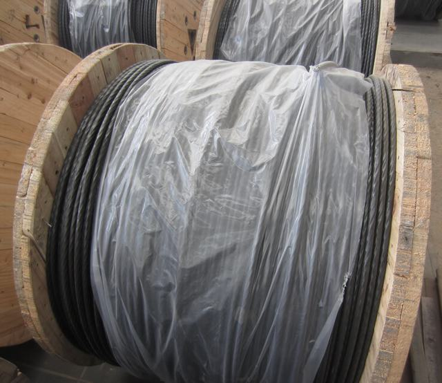 Insulated Covered Line Wire by Aluminum AWG Size AAC, AAAC/XLPE Icea