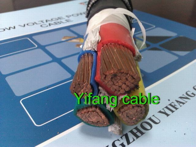 LV Underground Unarmoured, XLPE Insulated, PVC Sheated, 0.6/1kv Power Cable