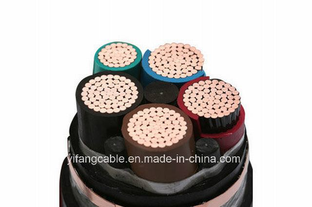 Low Voltage Aluminum / Copper XLPE Power Cable