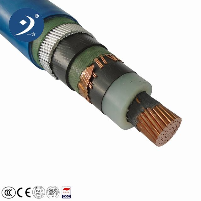 Medium Voltage High Voltage Copper XLPE Power Cable According to IEC Standard