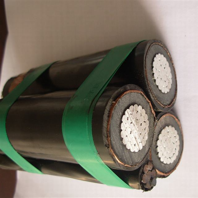 Mv 33kv 3X150+50 Sqmm Overhead Insulated Cable ABC Aerial Bundle Cable