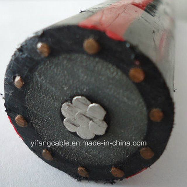 Mv Concentric Cable with 100% and 133% Insulation Level