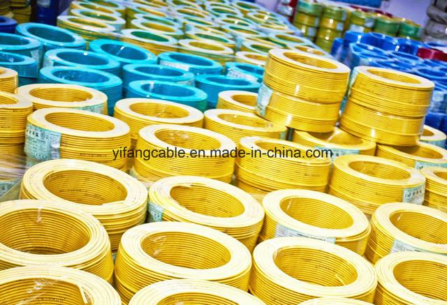 PVC Insulated Single Conductor Wires for Electric Installation Applications