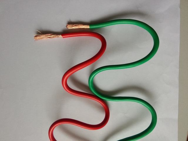 PVC Jacket Red Green Yellow Flexible Copper Wires