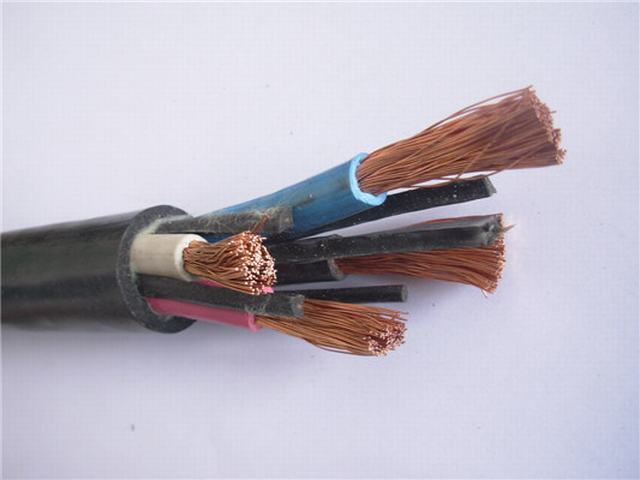 Underground Mining Cable 95 Rubber Insulated Industrial Cable