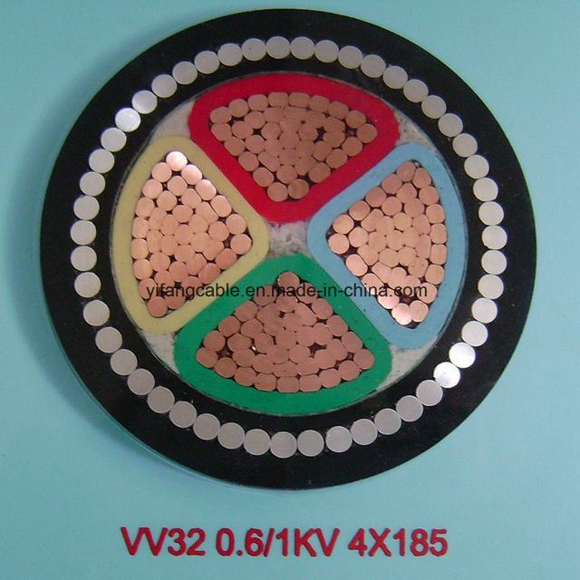 XLPE PVC Insulated Armoured Low Voltage Electric Cable for Power