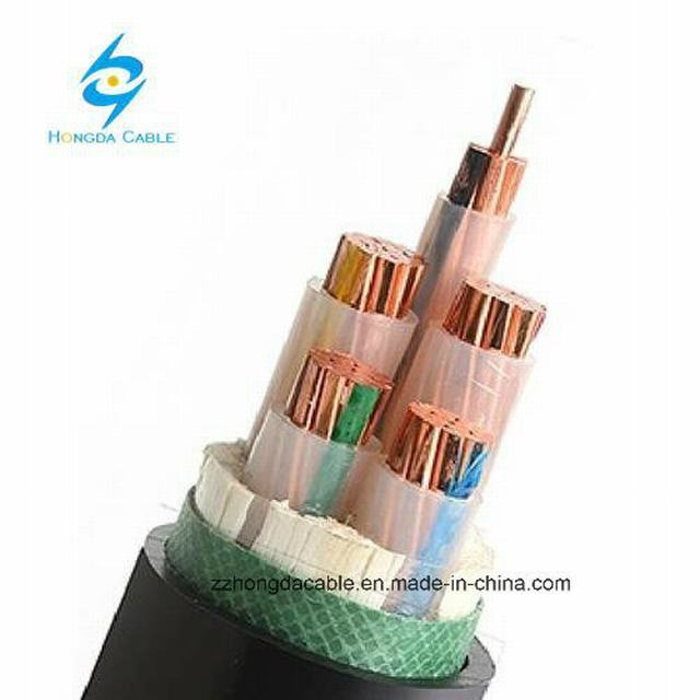 0.6/1kv 1.5~630sqmm Single Core or 3 Core Copper or Aluminum Conductor XLPE Insulated Power Cable
