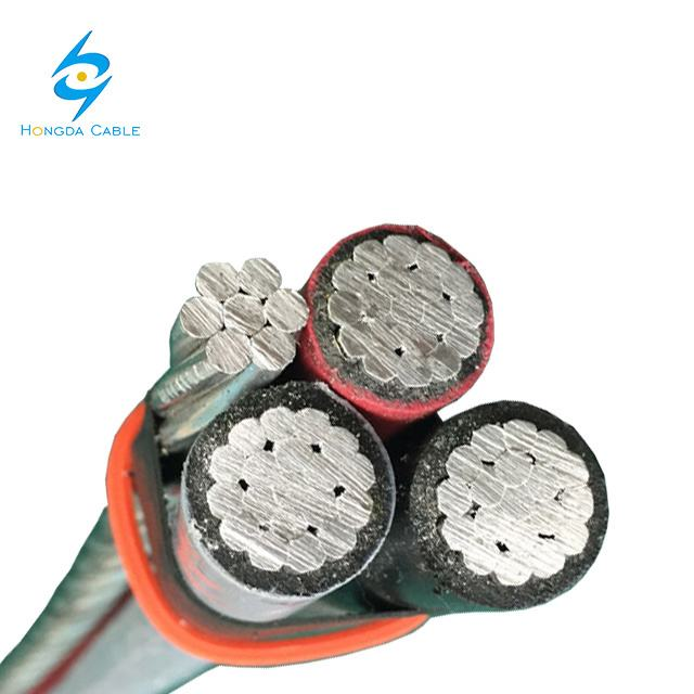 0.6/1kv Aerial Bundled ABC Cable 4 Core 120mm 95mm 70mm 50mm 35mm 25mm Overhead Cable