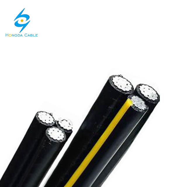 0.6/1kv Aluminum Conductor Line XLPE Insulated 3X25mm 35mm ABC Cable AAC Power Cable