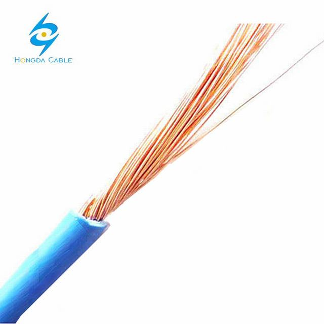 0.6/1kv Low Smoke Halogen Free Stranded Copper Conductor PVC Insulated Flexible Wiring Lighting Electric/Electrical Building Cable Wire