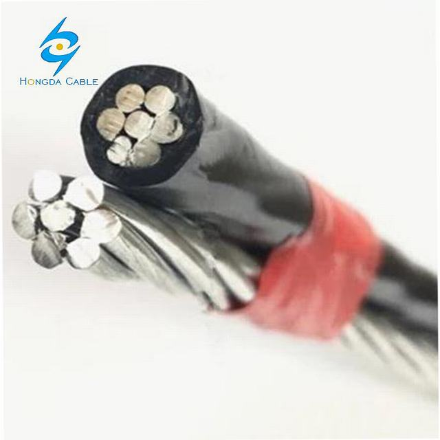 1*16+16 1*25+25 Aluminum Insulated Wire XLPE Insulated ABC Cable