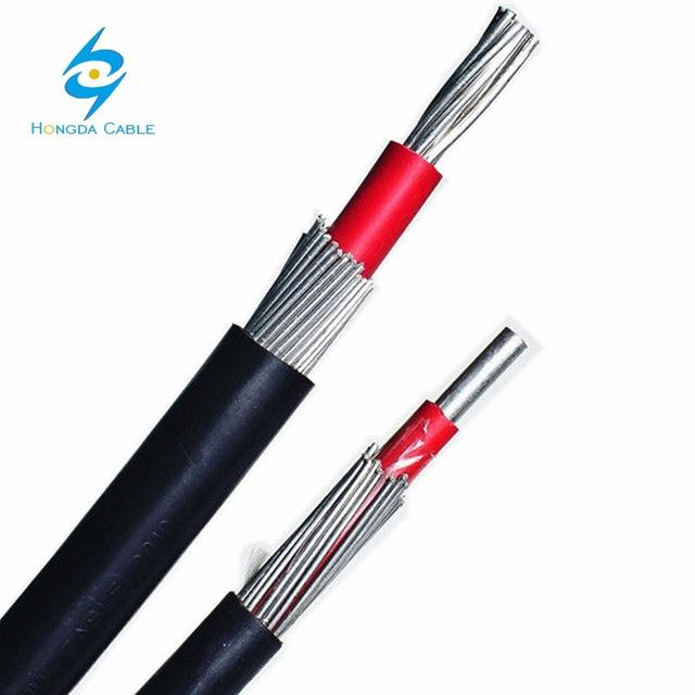 1000V 16mm2 Solid Aluminum Conductor Cne / Sne Concentric Neutral Cable