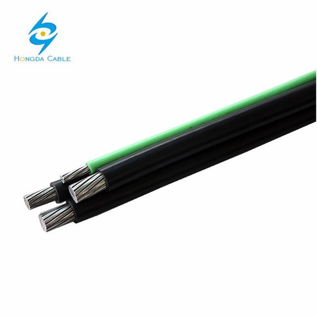 16mm 25mm 4c ABC PVC Aluminium Cable Insulated Non Sheathed Cables