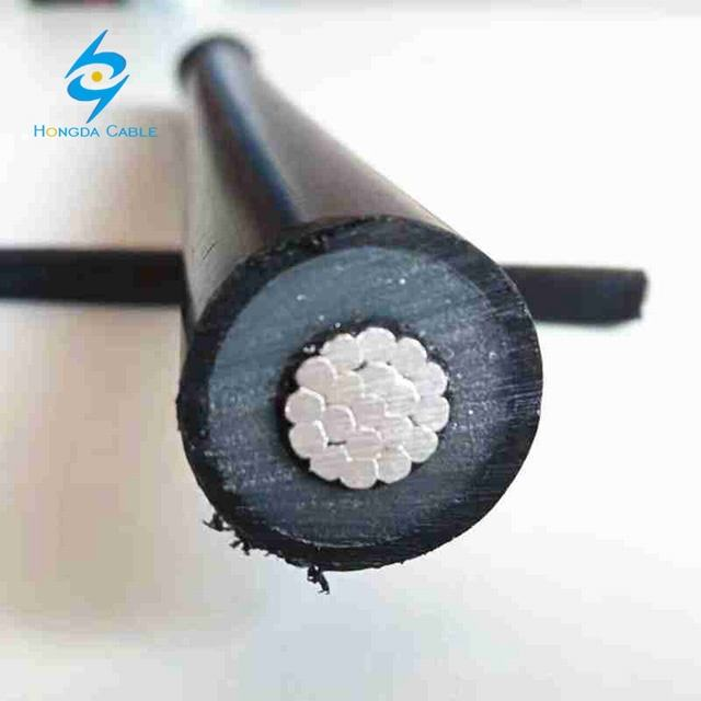 1X185mm2 1X240mm2 Al/XLPE/HDPE Sac Aerial Spacer Cable 33 Kv 20kv